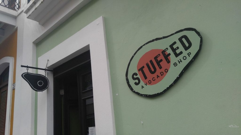 The Stuffed Avocado, a local restaurant