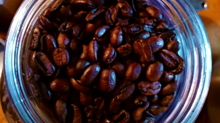 Our own coffee beans